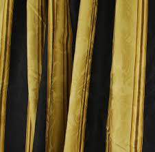 Black And Gold Curtain Fabric Curtain Striped Gold Fabric Best Material Decorate The House With