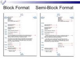 Semi Block Letter Format Business Letter Block Format Business Letter Examples Mediafoxstudio Com