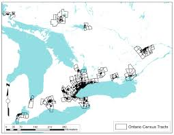 Canada Population Density Map by Road Density As A Proxy For Population Density In Risk Assessment