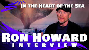 ron howard interview in the heart of the sea youtube