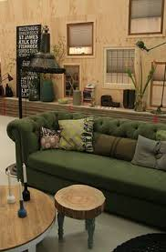 Olive Green Sofa by Design Muse Tricia Guild Green Sofa Pillows And Designers Guild