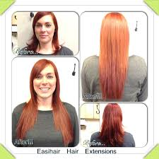 easihair extensions 8 best hair extensions before after images on hair