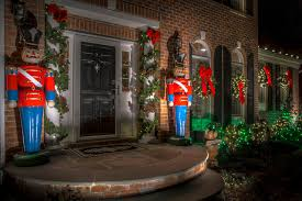 decor soldiers and lights landscape new