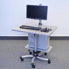 sit and stand desk platform deluxe sit stand desk w platform ultimate office