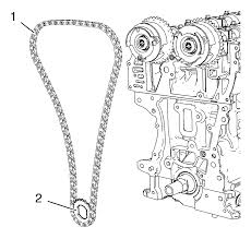 chevrolet sonic repair manual camshaft timing chain installation