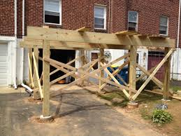 how to build a free standing deck design http lovelybuilding
