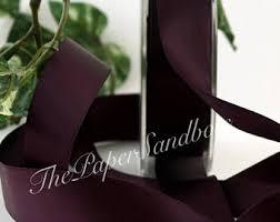 chagne satin ribbon purple ribbon etsy