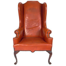 leather wingback chair modern chairs quality interior 2017
