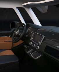 volkswagen concept van interior volkswagen t1 revival concept