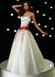 Red And White Wedding Dresses 169 Best Red Red U0026 White Wedding Dress Images On Pinterest