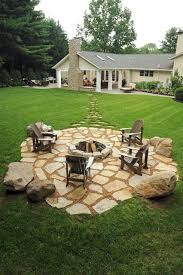 Firepit Patio Amazing Backyard Pit Ideas Landscaping Creative Outdoor