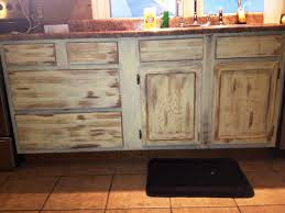 Antique Painted Kitchen Cabinets How To Antique Kitchen Cabinets With Wax Nrtradiant Com