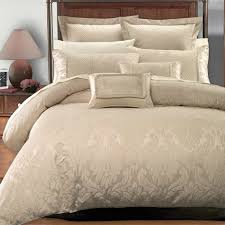 Egyptian Bed Sheets 7 Piece Sara Jacquard Duvet Cover Sets By Royal Hotel Collection