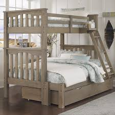 Innovative Wood Bunk Beds Twin Over Full Solid Wood Espresso Twin - Twin over full bunk bed with storage drawers