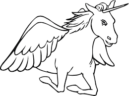 fresh unicorn wings coloring pages cool 3133 unknown