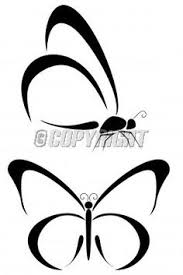 black and white butterfly outline more similar stock images of