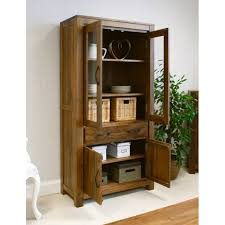 dark wood china cabinet glass display cabinet dark wood glazed buy online quality