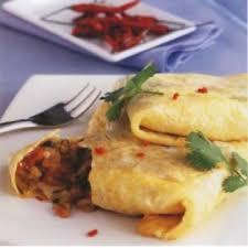 cuisine thailandaise recette omelette farcie à la thaï recettes de cuisine thaïlandaise