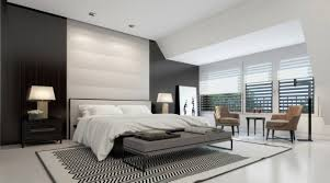 chambre a coucher noir et blanc chambre à coucher adulte 127 idées de designs modernes