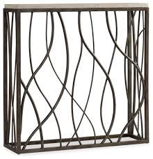 hooker sofa tables thin metal console transitional console tables by hooker