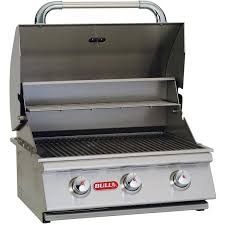 Bull Bbq Outdoor Kitchen Bull Steer Premium 25 Inch 3 Burner Built In Natural Gas Grill
