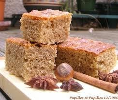 recette de cuisine gateau recette gâteau moelleux aux épices et aux noisettes