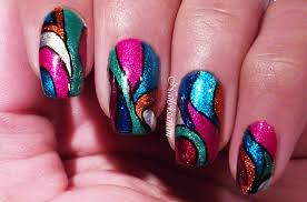 stained glass nail art youtube