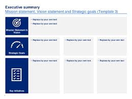 simple strategic plan template by ex mckinsey consultants