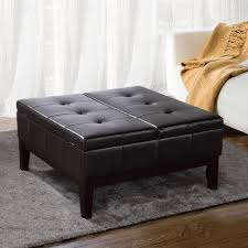 Extra Large Storage Ottoman by Ottomans Attractive Coffee Table Ottoman Combination Tufted