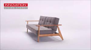 Single Sofa Bed Chair Splitback King Single Sofa Bed With Frej Arms Innovation Living