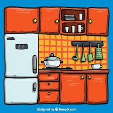 cuisine illustration cuisine illustration télécharger des vecteurs gratuitement