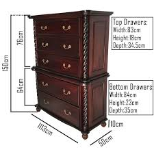 Tall Wood File Cabinet by Antique Style Bedroom Furniture Solid Mahogany Wood Colonial High