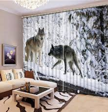 online get cheap nature hotels aliexpress com alibaba group home decor living room natural art animal custom curtain fashion decor home decoration for bedroom living