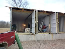 How To Build Tin Can Cabin For Building A House Out Of Shipping