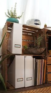 crate bookshelves repurposed u2013 diy mere makes a mess