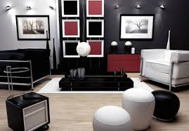 Custom  Black And Red Living Room Ideas Design Inspiration Of - White and red bedroom designs