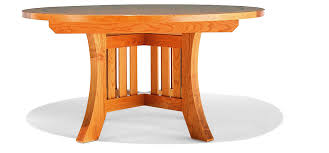 arts and crafts table for dining table by berkeley mills