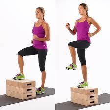 how to do step ups popsugar fitness