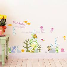 online buy wholesale fish baby nursery from china fish baby underwater world fish height chart wall stickers baby room creative decals nursery decoration china