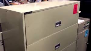 Used File Cabinet Used Four Drawer Fireproof Lateral File Cabinet Schwab 5000 43
