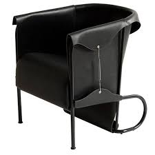 Club Chair Club Chair Inspired By Saddlery And High Fashion In Leather
