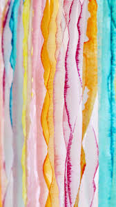 paper crepe streamers dip dye crepe paper streamers a subtle revelry
