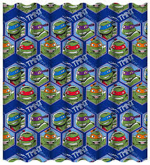tmnt wrapping paper mutant turtles dimension curtains 66 x 72 inch