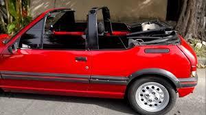 peugeot cabriolet peugeot 205 cti 91 cabriolet pininfarina 1 9 youtube