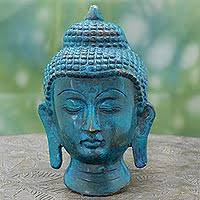 Decorative Buddha Head Buddha Sculpture Unique Buddha Sculptures Collection At Novica