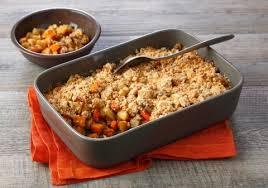cuisiner les l馮umes anciens crumble de légumes anciens croquons la vie nestlé