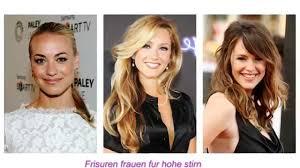Frisuren Lange Haare Kurze Stirn frisuren frauen für hohe stirn