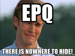 Crying Meme Generator - epq there is nowhere to hide dawson crying meme generator