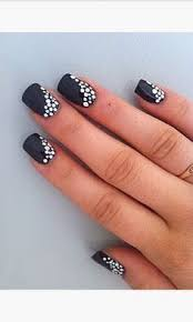 23 super easy nail art designs for lazy girls u2026 pinteres u2026