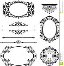ornamental design decor stock illustration image of